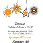 Diseña la postal de Navidad y el Calendario 2012 para CINC y gana 600€