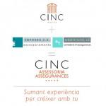 CINC, Assessoraments Empordà y Arbat&Turró Corredoria d'Assegurances se fusionan