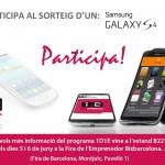 ¡Participa en el sorteo de un Samsung Galaxy S4!