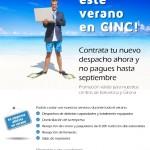 Promoción: ¡Pasa este verano en CINC Centro de Negocios!