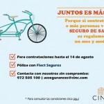 Promoción Salud CINC Correduría de Seguros: Juntos es más fácil